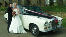 Daimler DS 420 Limousine Wedding Car